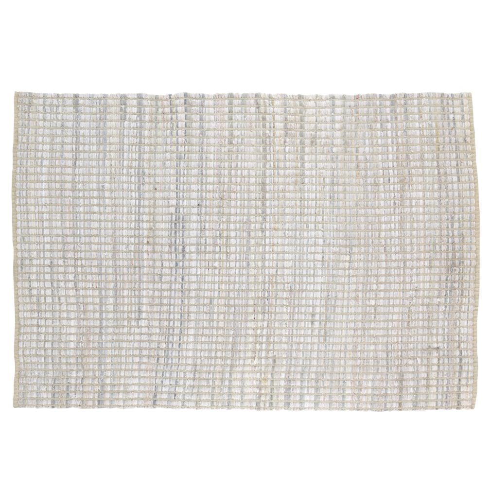 4 x 6'  Rags to Riches Rug (White)