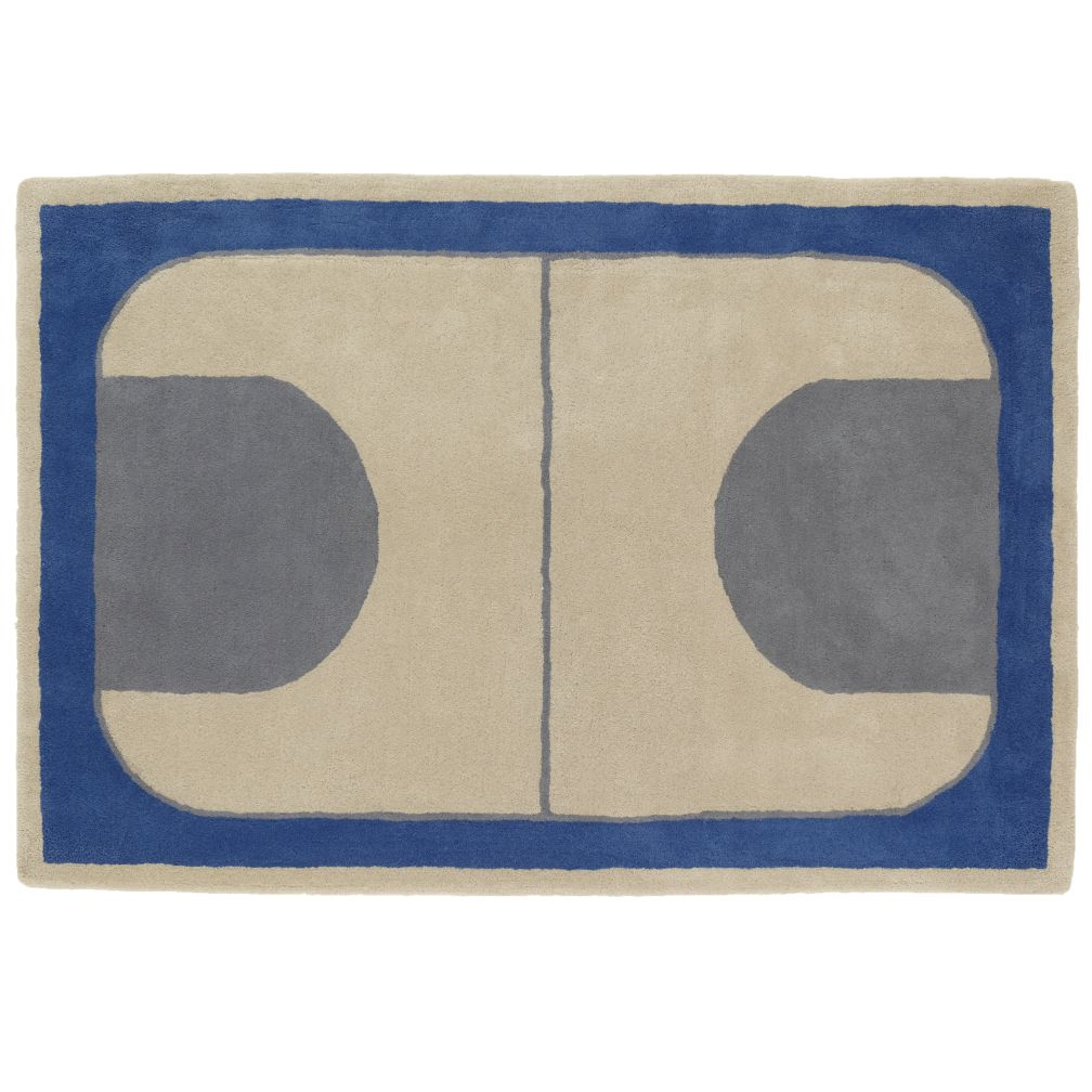 4 x 6' Game On Rug (Blue)