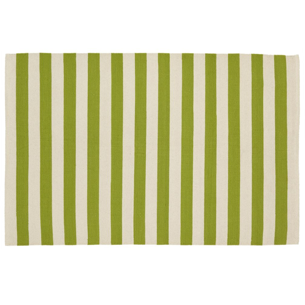 4 x 6&#39; Big Band Rug (Green)