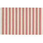 4 x 6&amp;#39; Pink Big Band Stripe Rug