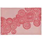 4 x 6' Pink Pirouette Rug
