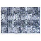 4 x 6' Blue Tally Rug
