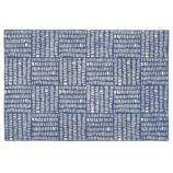 5 x 8' Tally Rug (Blue)