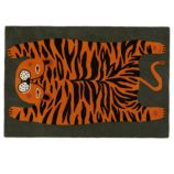 5 x 8' Don't Feed the Rug (Tiger)