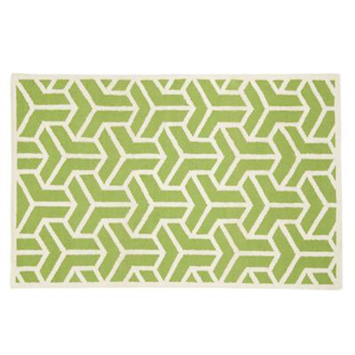 Crow's Feet Rug (Green)