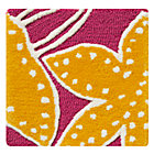 Swatch Pink Padded Lily Rug