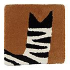 Zebra Rug Swatch