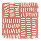 Pink Tally Rug Swatch