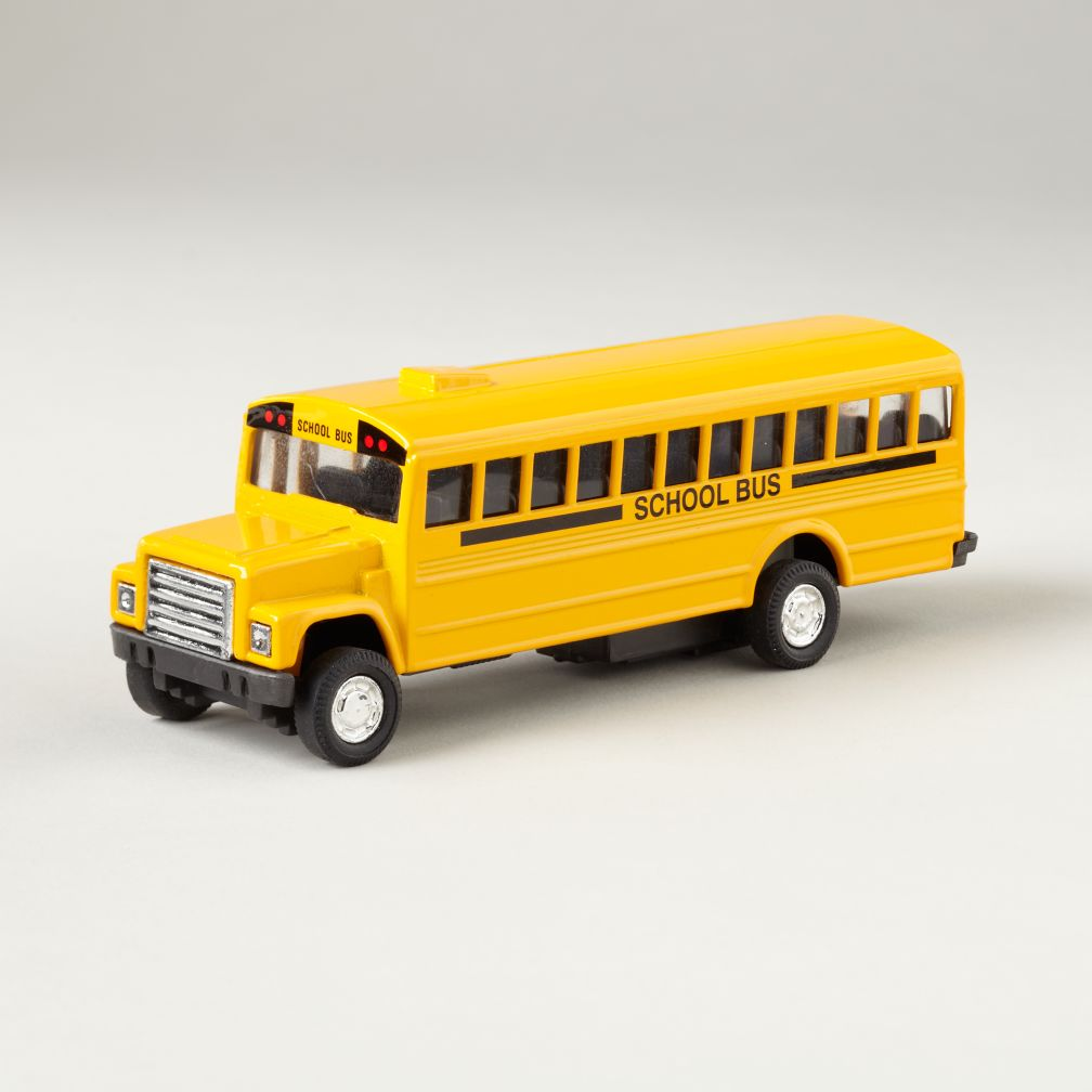 Pull and Go School Bus