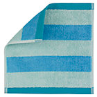 Blue Stripe Organic Wash Cloth