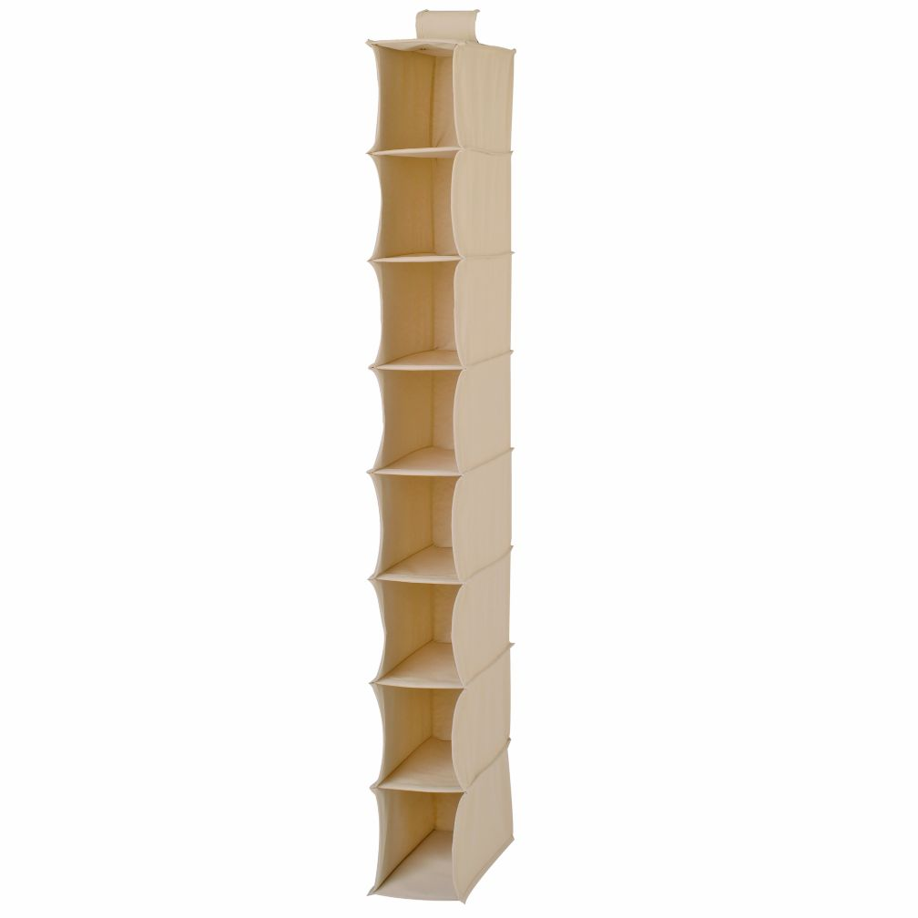 I Think I Canvas Hanging Organizer (Khaki)