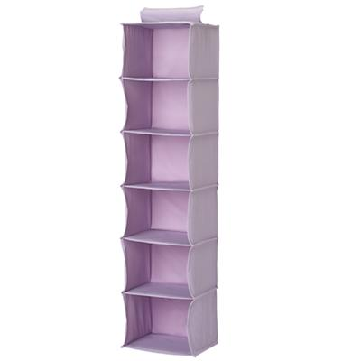 Lavender Wide Hanging Organizer