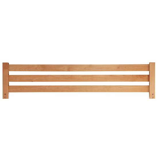 Kids Bed Guardrails Natural Simple Kids Bed Guardrail