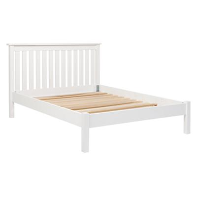 Simple White Full Bed