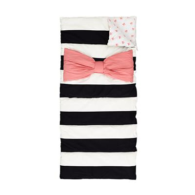 Candy Bow Sleeping Bag and Pillow Case