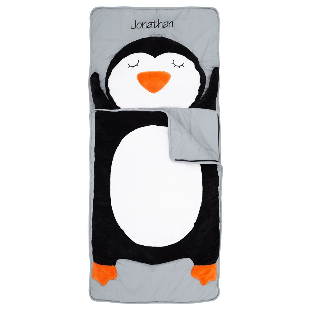 Personalized How Do You Zoo Sleeping Bag (Penguin)