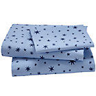 Twin Stars Sheet Set(includes 1 fitted sheet, 1 flat sheet and 1 case)