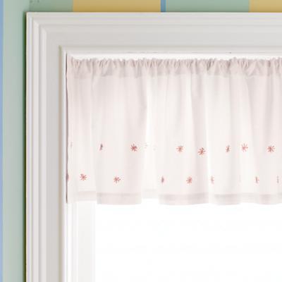 Star Window Valance (Pink)