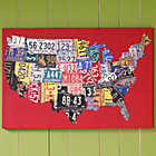State of the Art USA Canvas Print