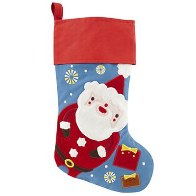 Holiday Cheer Stocking (Santa)