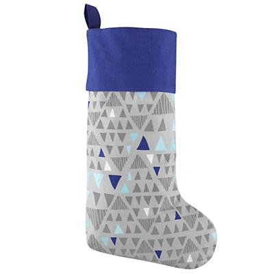 Geometric Forest Stocking (Silver)