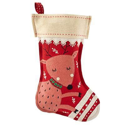 Holly Jolly Stocking (Deer)
