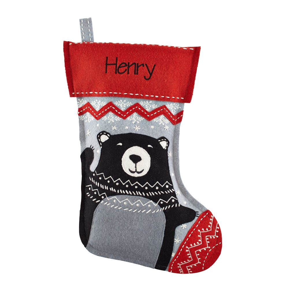 Jolly Ol' Stocking (Bear)