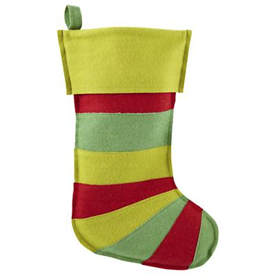 Stripe Stocking