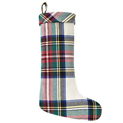 Tartan Plaid Stocking