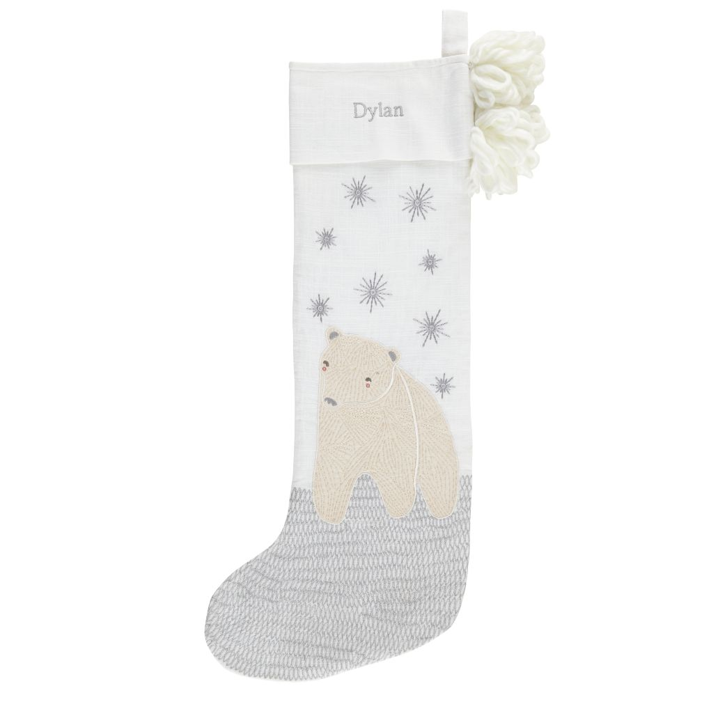 Wintry Wonder Stocking (Bear)