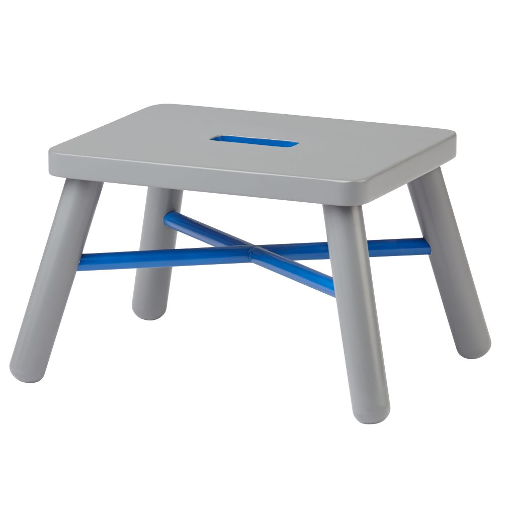 New Height Stool (Cobalt/Grey)