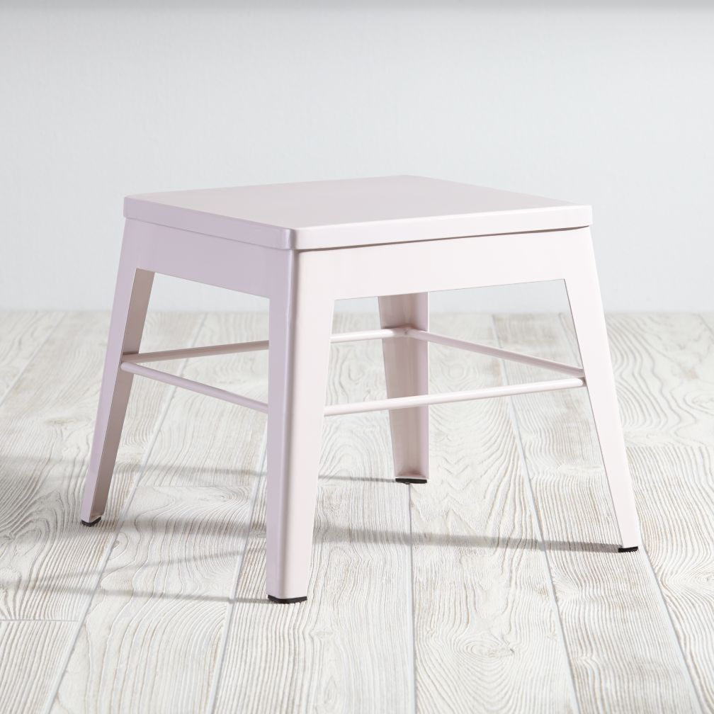 Squared Up Stool (Pink)