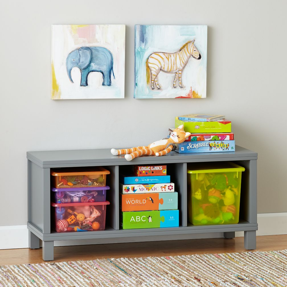 Kids Toy Boxes Wood Toy Boxes The Land Of Nod