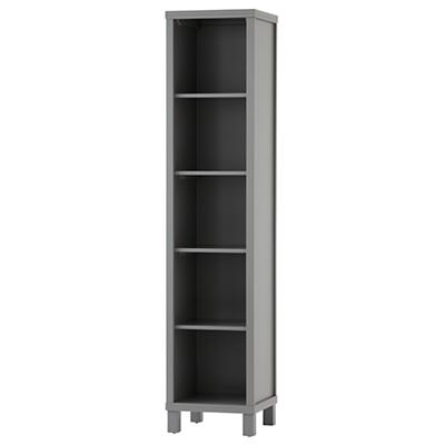 Cubic Tall Bookcase (Grey, 5-Cube)