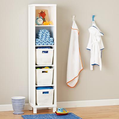 Cubic Bookcase (White, 5-Cube)