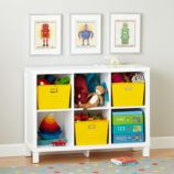 Cubic Bookcase (White, 6-Cube)