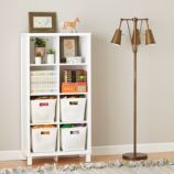 Cubic Bookcase (White, 8-Cube)