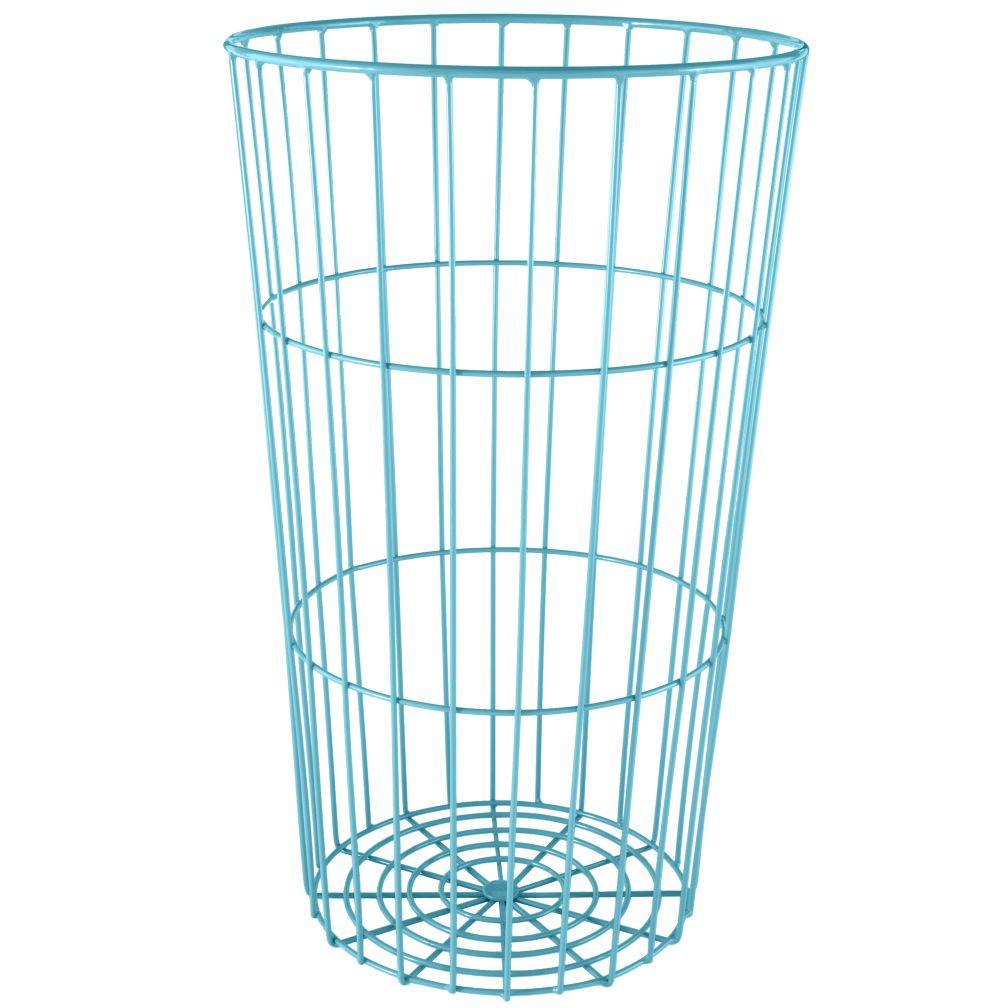 Flea Market Wire Ball Bin (Teal)