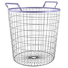 Purple Wired World Floor Bin