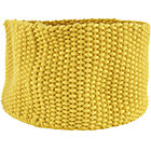 Large Yellow Kneatly Knit Rope Bin