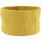 Medium Yellow Kneatly Knit Rope Bin