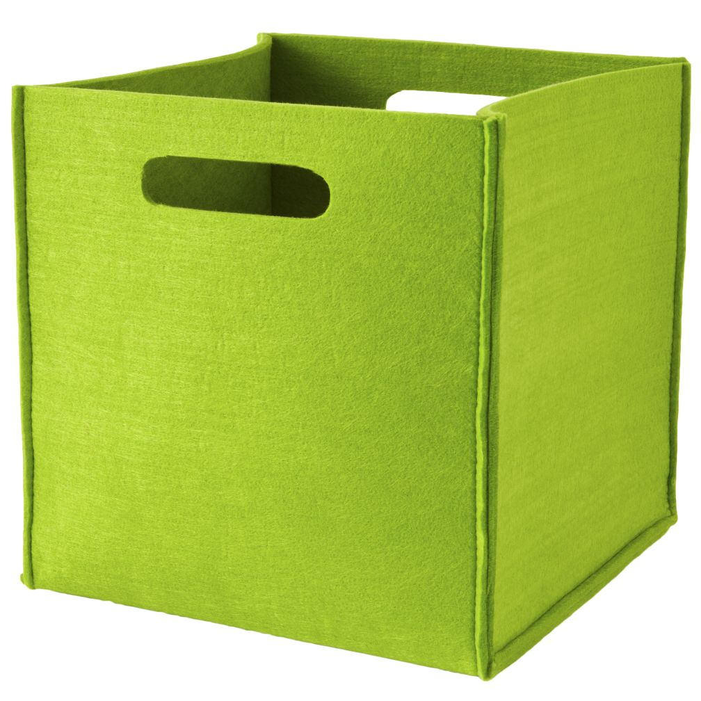 Once More with Felting Cube Bin (Green)