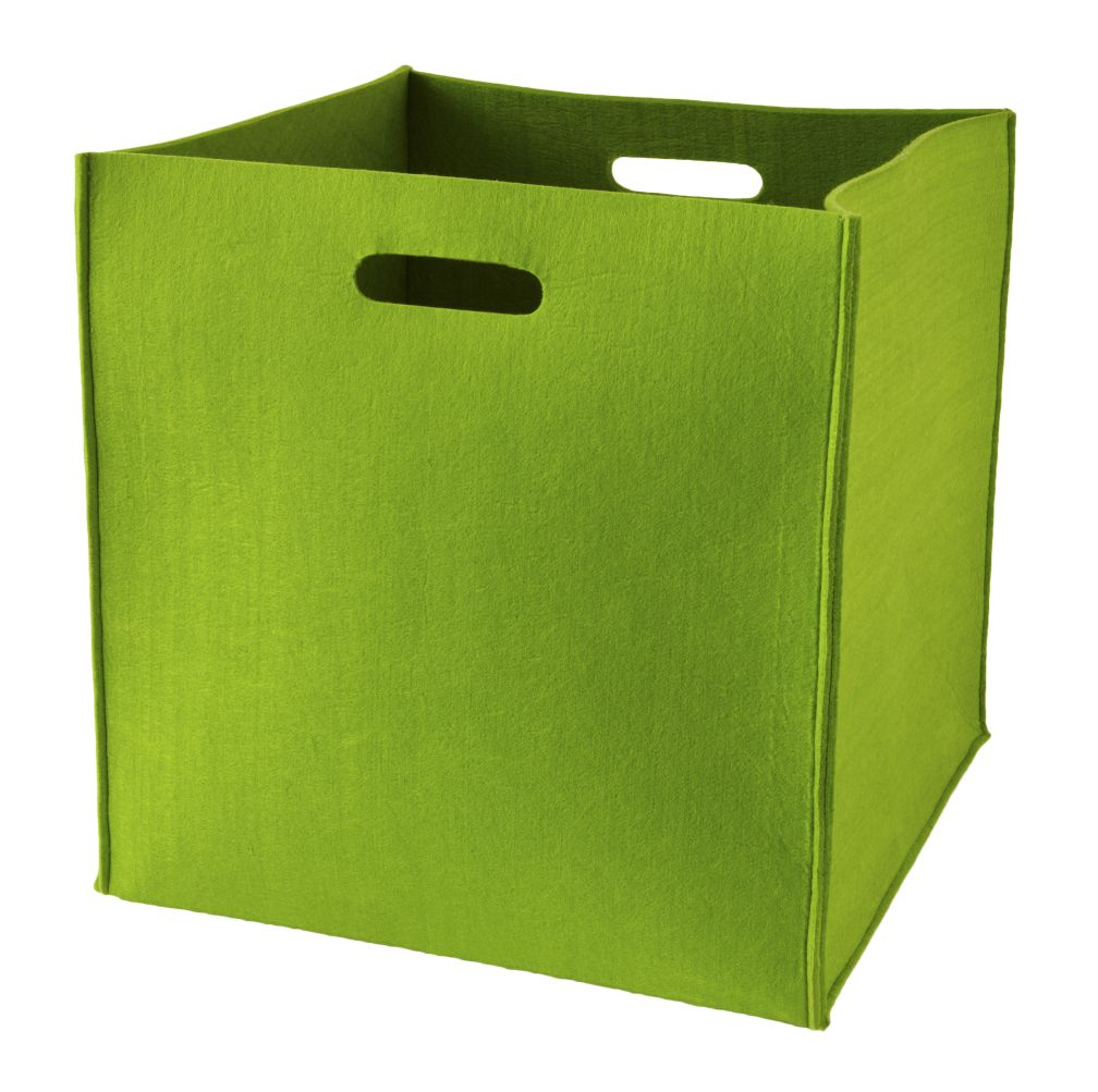Once More with Felting Floor Bin (Green)