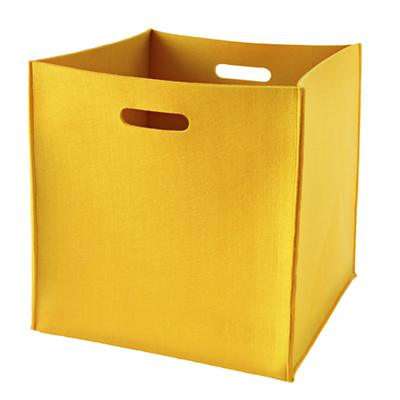 Once More with Felting Floor Bin (Yellow)