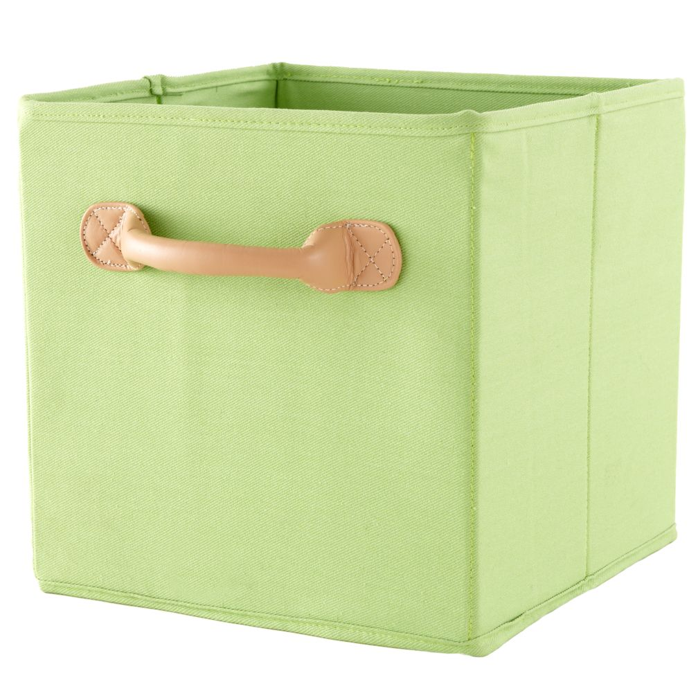 We&#39;re Not Just Canvas Anymore Cube Bin (Green)