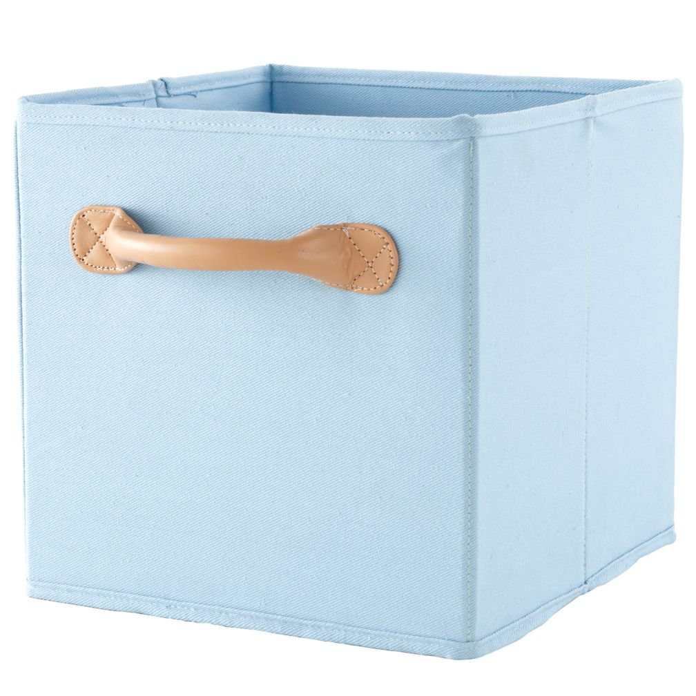 We&#39;re Not Just Canvas Anymore Cube Bin (Lt. Blue)