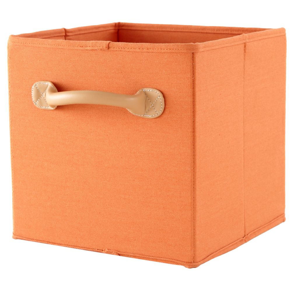 We&#39;re Not Just Canvas Anymore Cube Bin (Orange)
