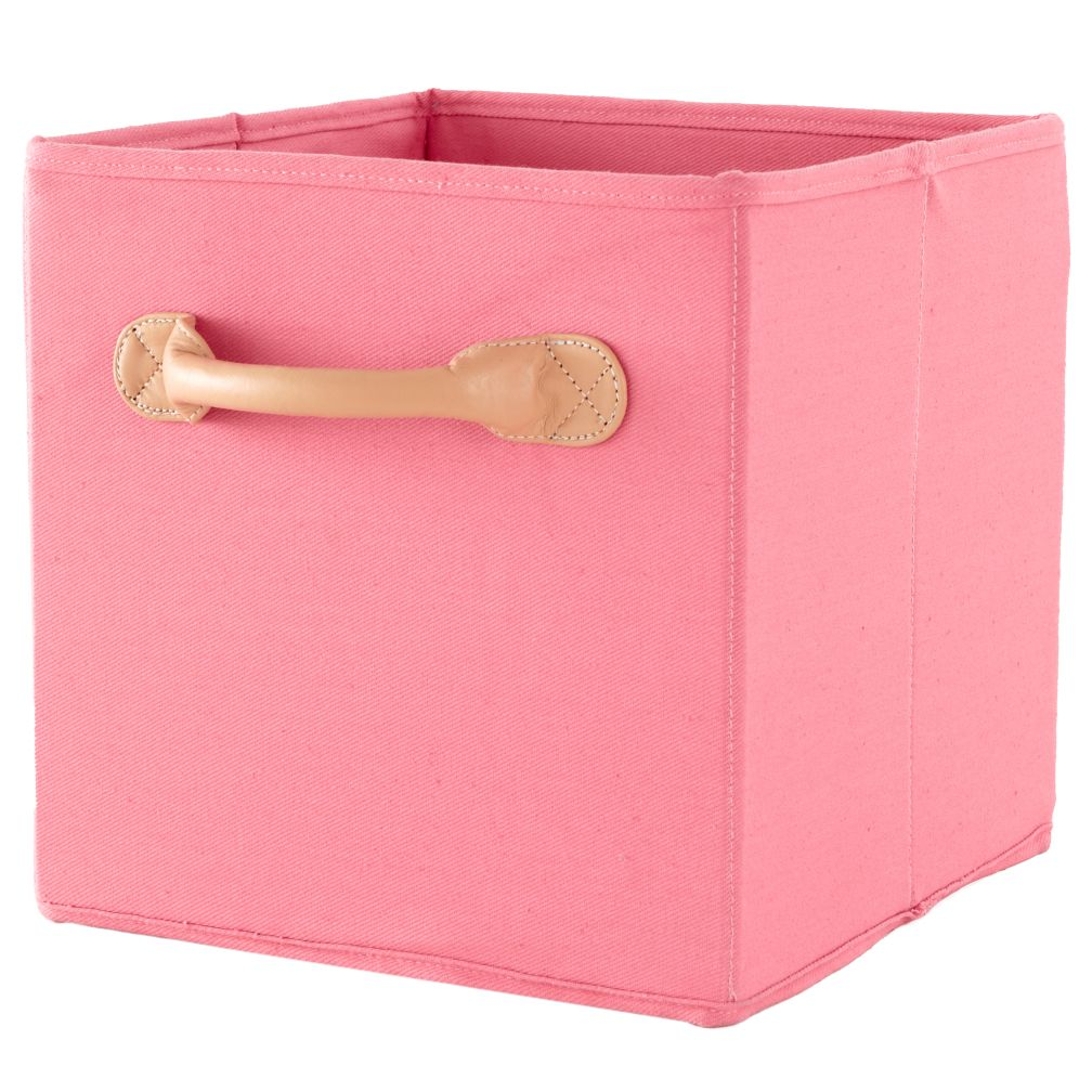 We&#39;re Not Just Canvas Anymore Cube Bin (Pink)