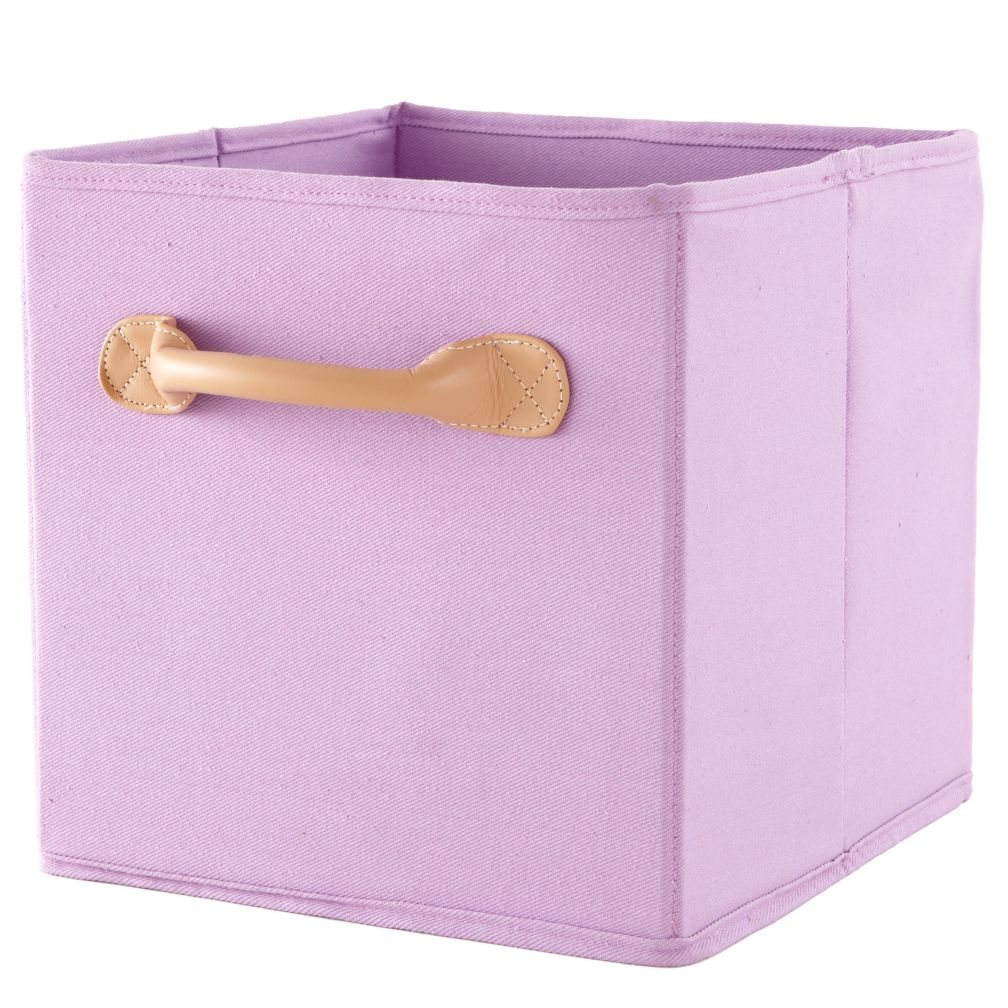 We're Not Just Canvas Anymore Cube Bin (Purple)