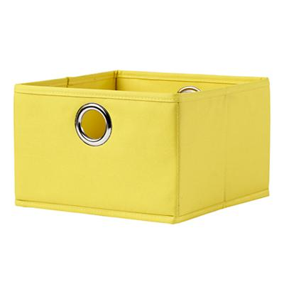 I Think I Canvas Wide Drawer (Yellow)